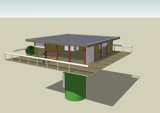 Dansle cadre du développement durable, une maison bio ...